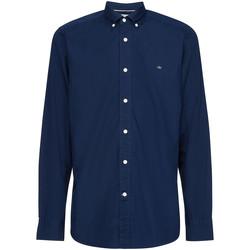 Îmbracaminte Bărbați Cămăsi mânecă lungă Calvin Klein Jeans K10K105284 Albastru