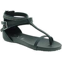 Pantofi Femei Sandale  18+ 6110 Negru