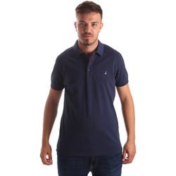 Îmbracaminte Bărbați Tricou Polo mânecă scurtă Navigare NV82097 Albastru