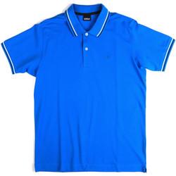 Îmbracaminte Bărbați Tricou Polo mânecă scurtă Key Up 2Q70G 0001 Albastru