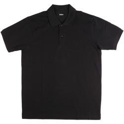 Îmbracaminte Bărbați Tricou Polo mânecă scurtă Key Up 2800Q 0001 Negru