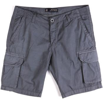 Îmbracaminte Bărbați Pantaloni scurti și Bermuda Key Up 2P16A 0001 Albastru