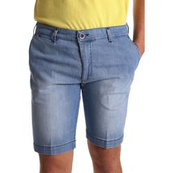 Îmbracaminte Bărbați Pantaloni scurti și Bermuda Sei3sei PZV132 7118 Albastru