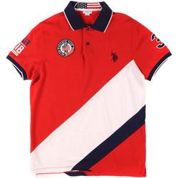 Îmbracaminte Bărbați Tricou Polo mânecă scurtă U.S Polo Assn. 43771 41029 Roșu