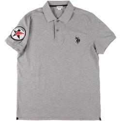 Îmbracaminte Bărbați Tricou Polo mânecă scurtă U.S Polo Assn. 43767 41029 Gri