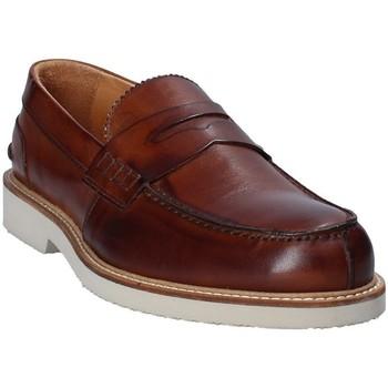 Pantofi Bărbați Mocasini Exton 9102 Maro