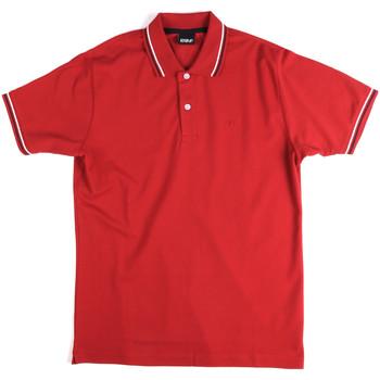 Îmbracaminte Bărbați Tricou Polo mânecă scurtă Key Up 2Q70G 0001 Roșu