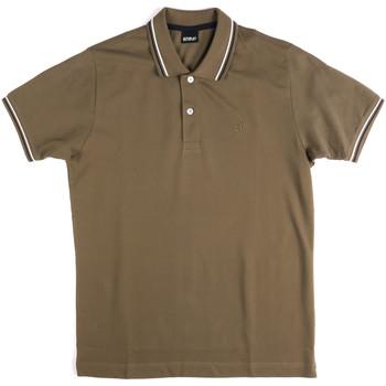 Îmbracaminte Bărbați Tricou Polo mânecă scurtă Key Up 2Q70G 0001 Verde
