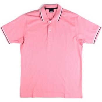 Îmbracaminte Bărbați Tricou Polo mânecă scurtă Key Up 2Q70G 0001 Roz