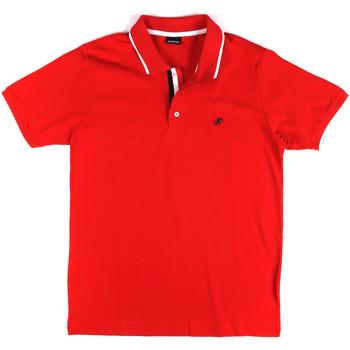 Îmbracaminte Bărbați Tricou Polo mânecă scurtă Key Up 2Q711 0001 Roșu