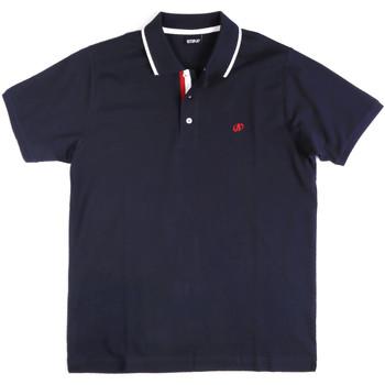 Îmbracaminte Bărbați Tricou Polo mânecă scurtă Key Up 2Q711 0001 Albastru