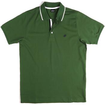 Îmbracaminte Bărbați Tricou Polo mânecă scurtă Key Up 2Q711 0001 Verde