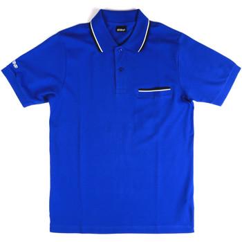 Îmbracaminte Bărbați Tricou Polo mânecă scurtă Key Up 2Q827 0001 Albastru