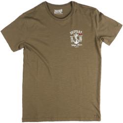 Îmbracaminte Bărbați Tricouri mânecă scurtă Key Up 2G77S 0001 Verde