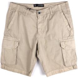Îmbracaminte Bărbați Pantaloni scurti și Bermuda Key Up 2P16A 0001 Gri