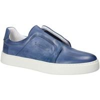 Pantofi Bărbați Pantofi Slip on Exton 511 Albastru