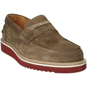 Pantofi Bărbați Mocasini Exton 5102 Maro