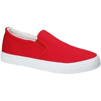 Pantofi Bărbați Pantofi Slip on Gas GAM810165 Roșu