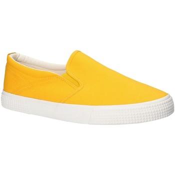 Pantofi Bărbați Pantofi Slip on Gas GAM810165 Galben