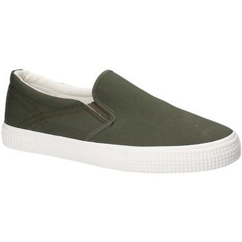 Pantofi Bărbați Pantofi Slip on Gas GAM810165 Verde