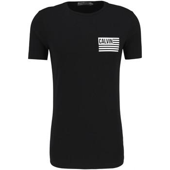 Îmbracaminte Bărbați Tricouri mânecă scurtă Calvin Klein Jeans J30J306891 Negru