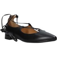 Pantofi Femei Balerin și Balerini cu curea Grace Shoes 521T046 Negru
