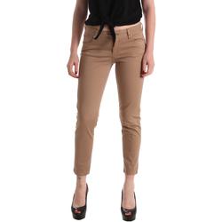 Îmbracaminte Femei Pantalon 5 buzunare Gaudi 911BD25011 Maro