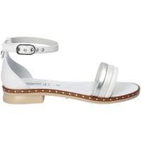 Pantofi Fete Sandale  Nero Giardini P830513F Alb