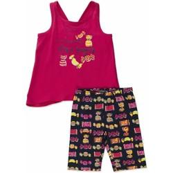 Îmbracaminte Fete Compleuri copii  Losan 816-8044AD Roz