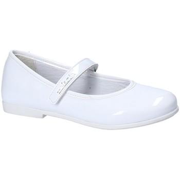 Pantofi Fete Balerin și Balerini cu curea Melania ME6023F8E.A Alb