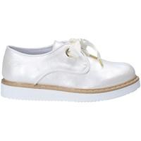 Pantofi Copii Pantofi Derby Guardiani GK25400G Alb