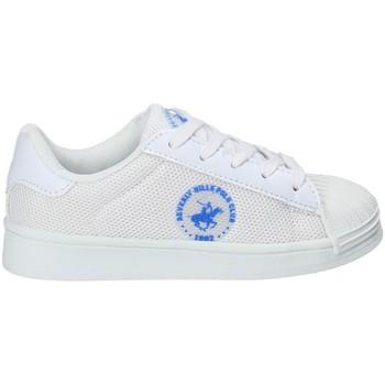 Pantofi Copii Pantofi sport Casual Beverly Hills Polo Club BH-2028 Alb