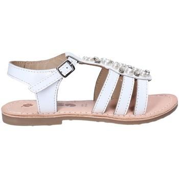 Pantofi Fete Sandale  Asso 65952 Alb