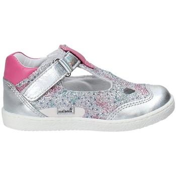 Pantofi Fete Balerin și Balerini cu curea Melania ME0127A8E.C Gri