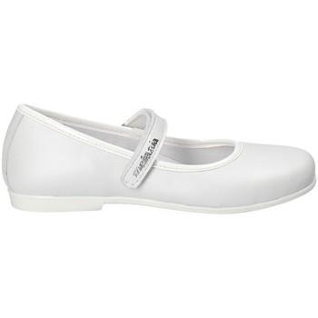 Pantofi Fete Balerin și Balerini cu curea Melania ME2022D8E.B Alb