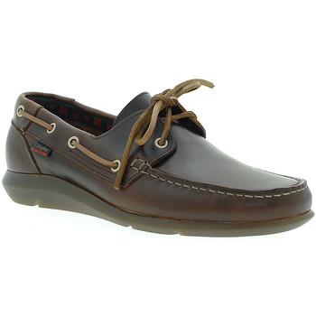 Pantofi Bărbați Pantofi barcă CallagHan 14400 Maro