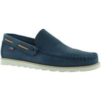 Pantofi Bărbați Mocasini CallagHan 15400 Albastru