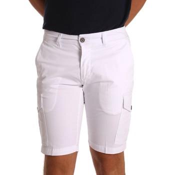 Îmbracaminte Bărbați Pantaloni scurti și Bermuda Sei3sei PZV130 81408 Alb