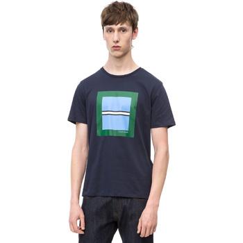 Îmbracaminte Bărbați Tricouri mânecă scurtă Calvin Klein Jeans K10K102679 Albastru