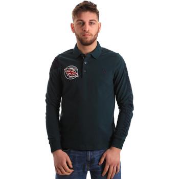 Îmbracaminte Bărbați Tricou Polo manecă lungă U.S Polo Assn. 50615 47773 Verde