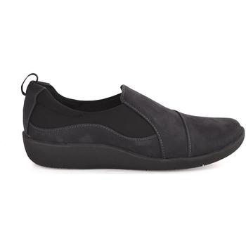Pantofi Bărbați Pantofi Slip on Clarks 122187 Albastru