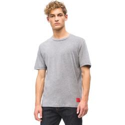 Îmbracaminte Bărbați Tricouri mânecă scurtă Calvin Klein Jeans J30J309616 Gri