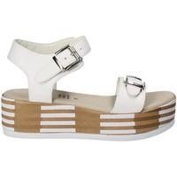 Pantofi Femei Sandale  Grace Shoes 56423 Alb