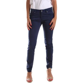 Îmbracaminte Femei Pantalon 5 buzunare Gaudi 911BD25010 Albastru