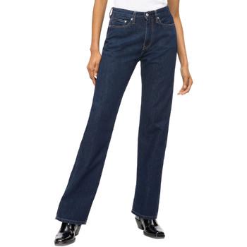 Îmbracaminte Femei Jeans drepti Calvin Klein Jeans J20J207612 Albastru