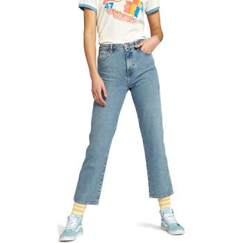 Îmbracaminte Femei Jeans drepti Wrangler W238GF Albastru