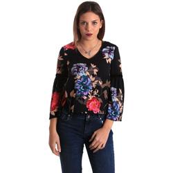 Îmbracaminte Femei Topuri și Bluze Gaudi 821FD45009 Negru