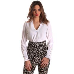 Îmbracaminte Femei Topuri și Bluze Gaudi 821FD45014 Alb