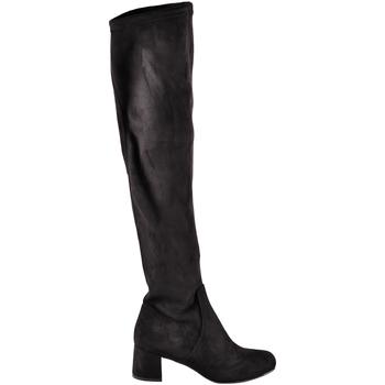 Pantofi Femei Cizme casual Grace Shoes 0352 Negru