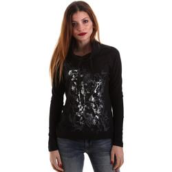 Îmbracaminte Femei Tricouri cu mânecă lungă  Key Up 5VG84 0001 Negru